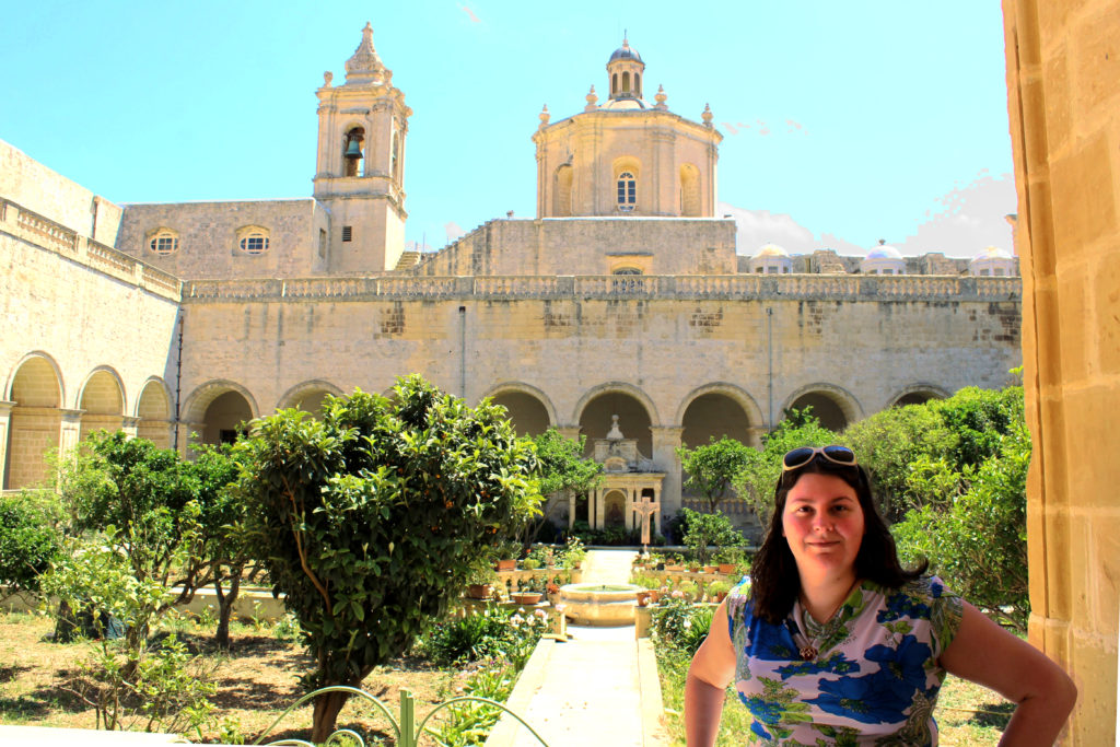 St Dominic's Convent is a very quiet site and my favourite of those we visited on our Game of Thrones in Malta tour.