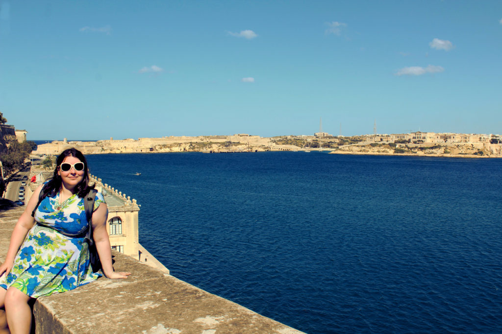 The grand harbour of Valetta. Several forts in the background are key filming locations for Game of Thrones.