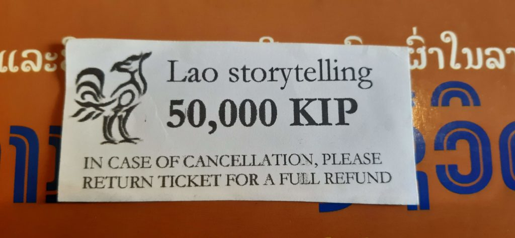My Lao Storytelling ticket