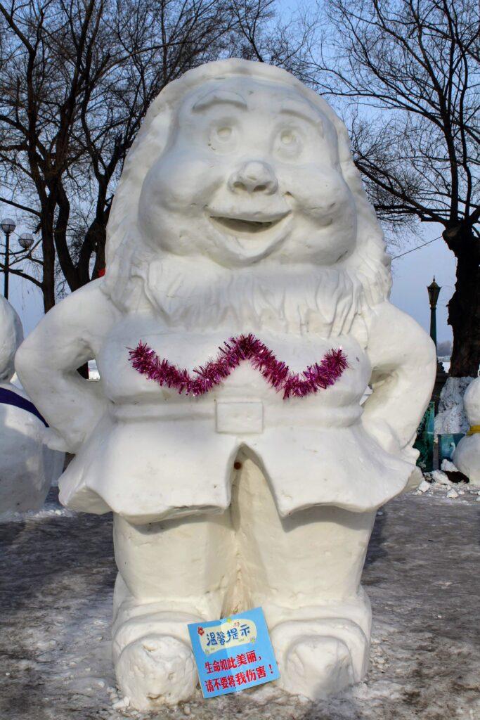 A snow dwarf