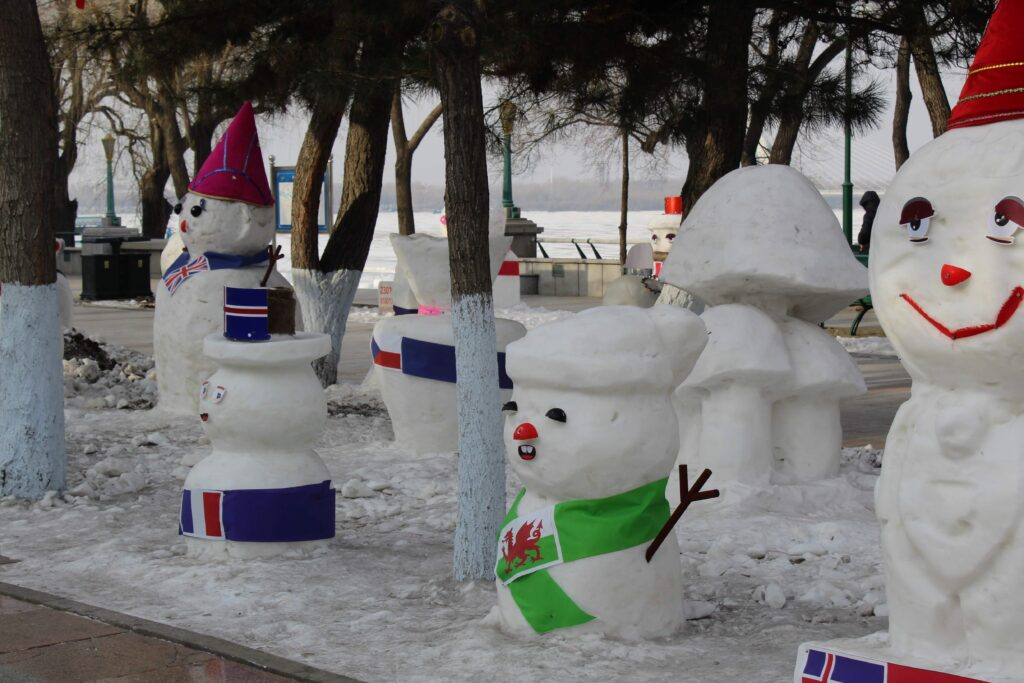 A welsh snowman