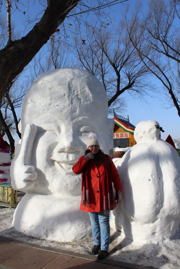 More snow characters with myself as a size reference