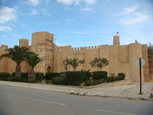 Exterior of Monastir Ribat